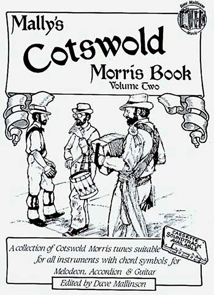 Cotswold Morris Vol 2, book A collection of traditional Cotswold morris tunes, edited by Dave Mallinson