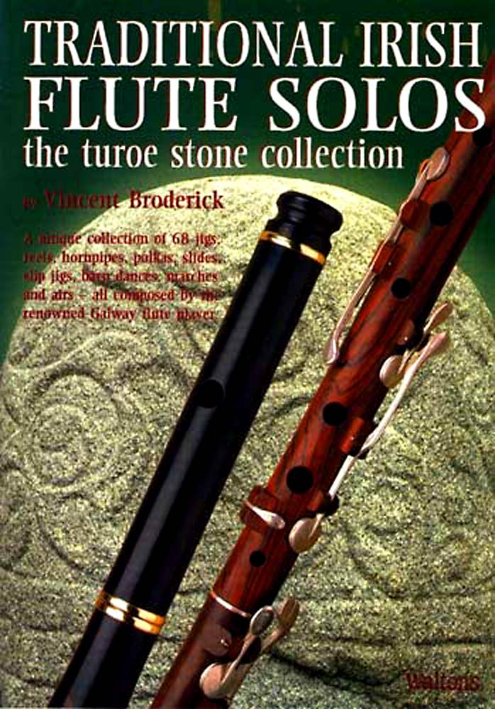 Traditional Irish Flute Solos By Vincent Broderick, 68 Jigs, Reels, Polkas, Slides etc