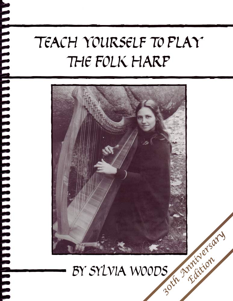 Teach Yourself Folk Harp book Our most popular harp tutor book, by Sylvia Woods.