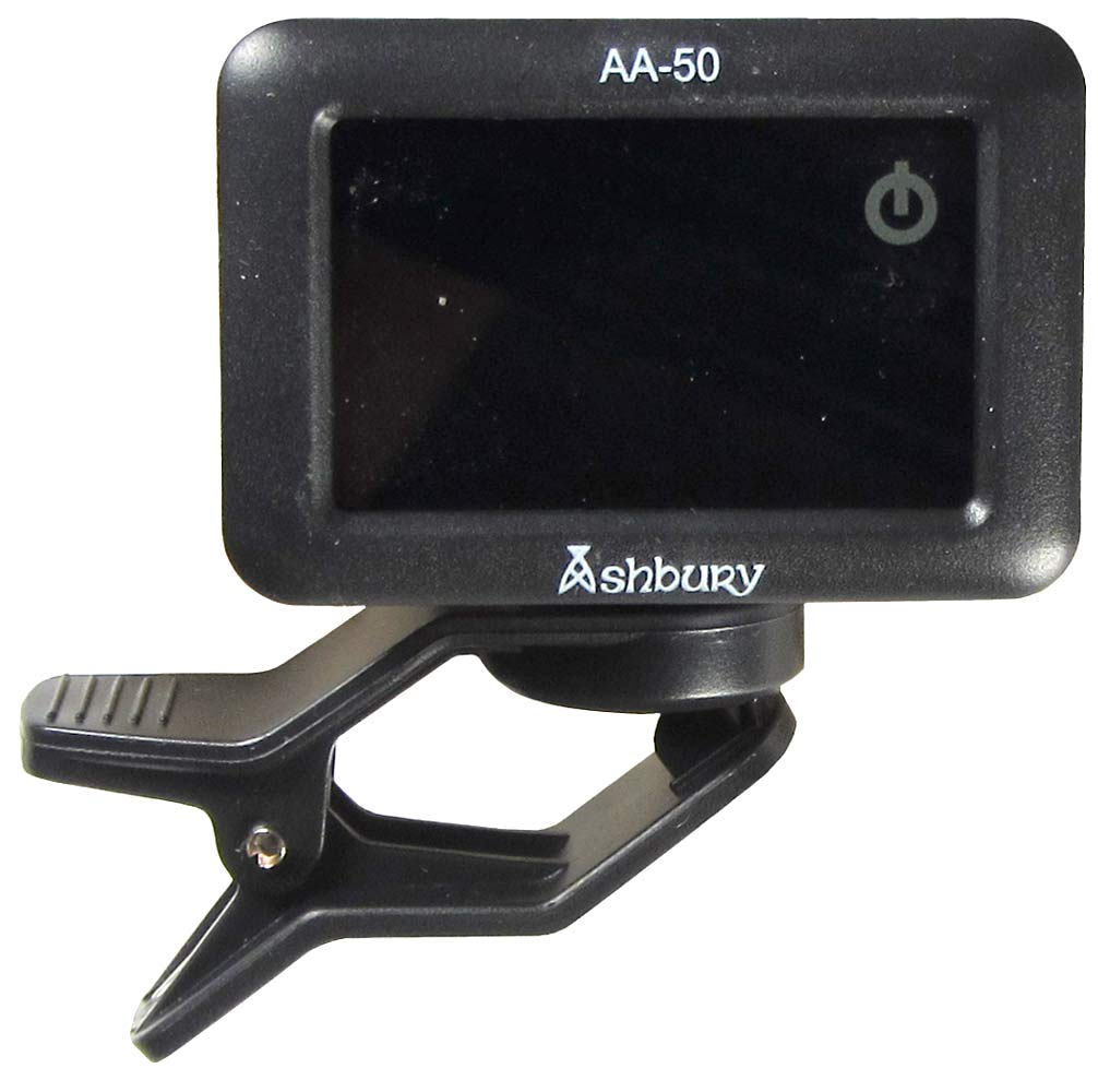 Ashbury Chromatic Clip On Tuner Touch screen, fully chromatic.