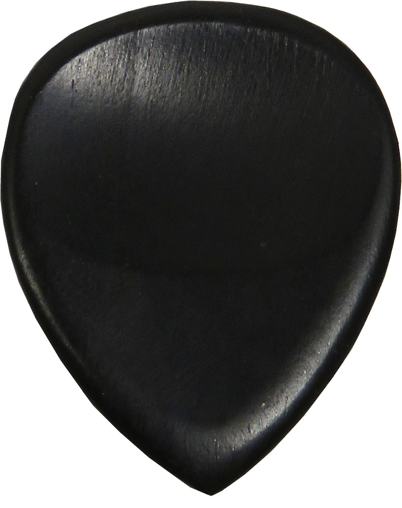 Ashbury Ebony Guitar Picks, 4 Pack Distinctive ebony tone and feel.