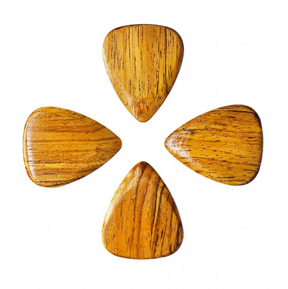 Timber Tones Thai Sindora Single Pick Ideal for Acoustic Guitar & Archtop Jazz Guitar.