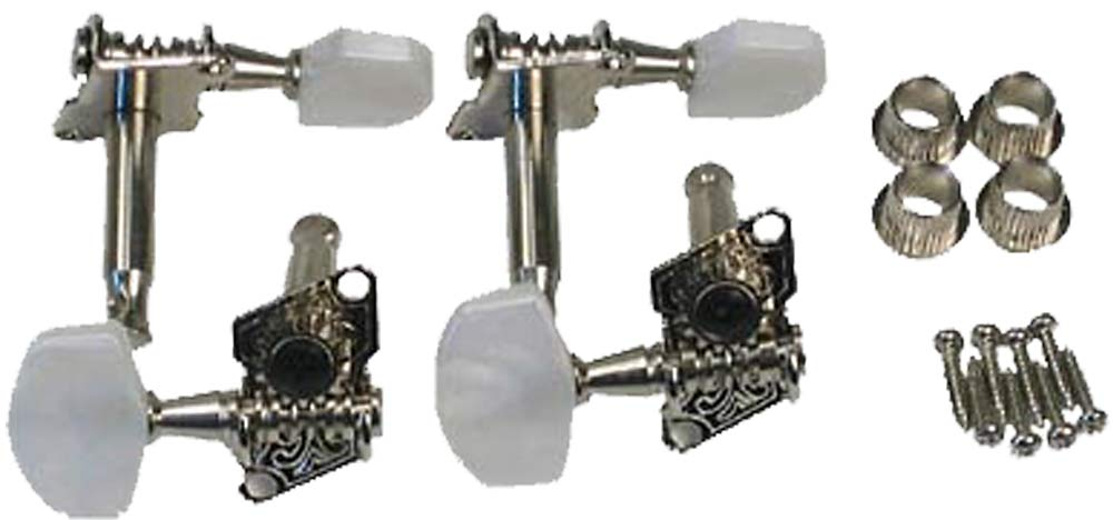 Viking Set of 4 Banjo machine heads Cogged machine heads as on GR38021 banjos