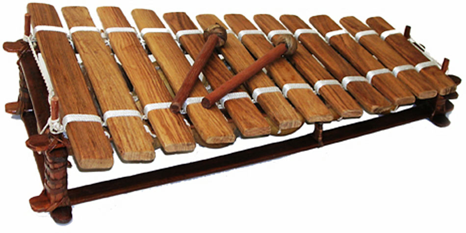 Kambala Balaphon 12 Note Pentatonic Hardwood Keys Tuned and carved