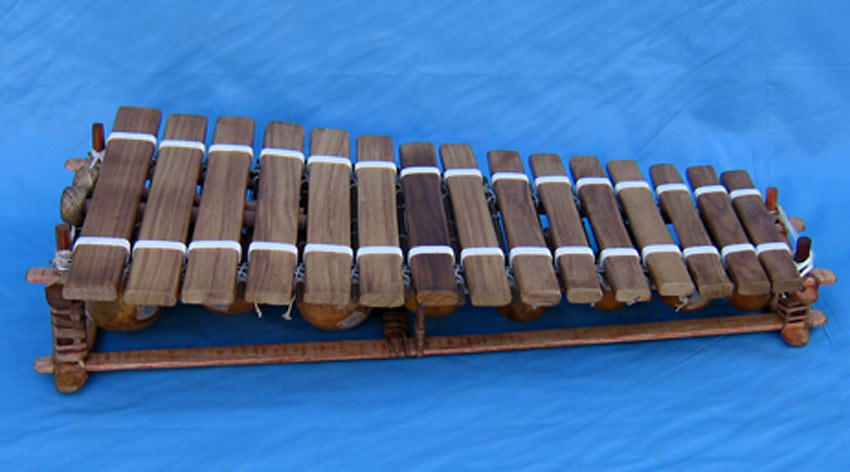 Kambala Balaphon 15 Key Hardwood Keys Tuned and carved