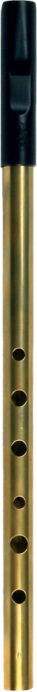 Tony Dixon Trad High D Whistle, Brass Tuneable ABS head with a brass body, for a lovely mellow tone.