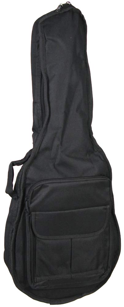 Viking Deluxe Padded Mandolin Bag Tough 600D black nylon outer with 20mm padding. Plush red lining.