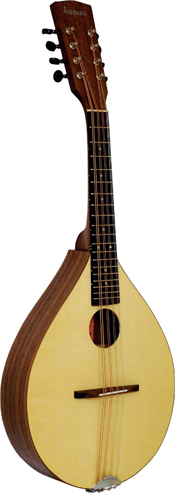 Ashbury Rathlin Tenor Mandola Solid spruce top with walnut back and sides. Sapele neck, hardwood fingerboard