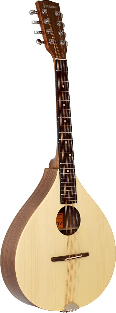 Ashbury Rathlin Octave Mandola Solid spruce top with walnut back and sides. Sapele neck, hardwood fingerboard