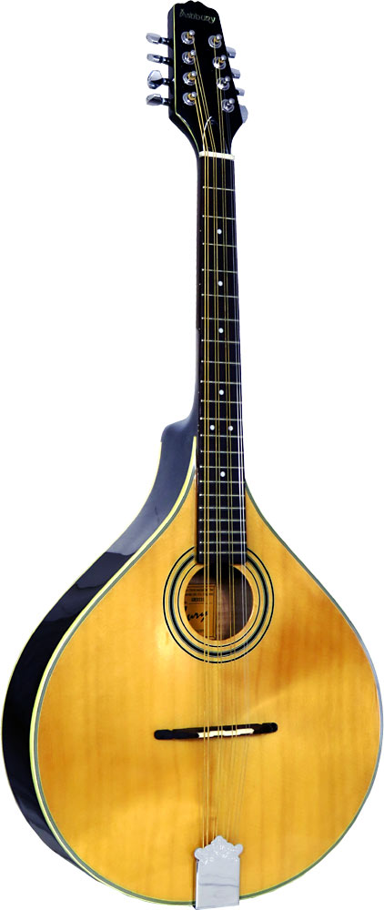 Ashbury Octave Mandola, Flat Top Solid spruce top, solid maple body. Oval hole, gloss natural finish..