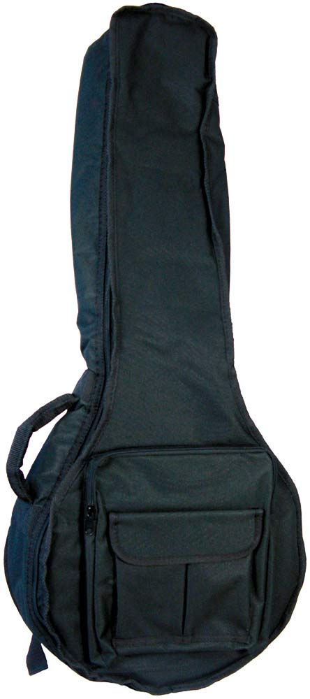 Ashbury Deluxe Octave Mandola Bag Tough black nylon outer with 20mm padding.