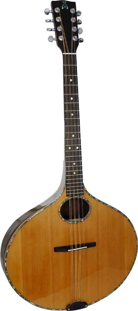 Ashbury Iona Octave Mandola Onion shaped body. Solid spruce top, solid rosewood back and sides..