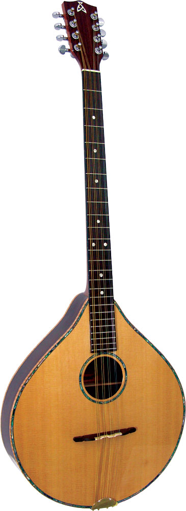 Ashbury Irish Bouzouki Solid Alaskan spruce top, solid rosewood back and sides.
