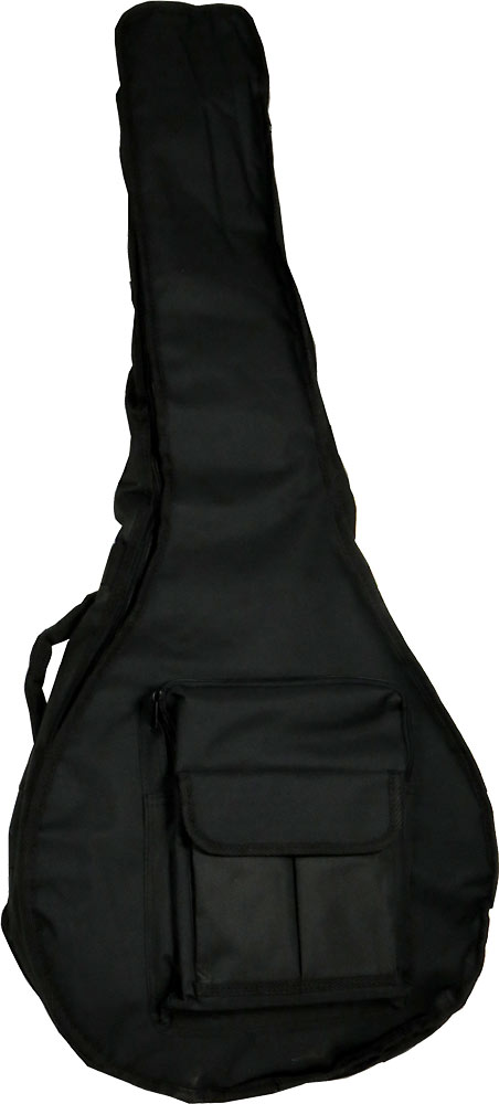 Ashbury Deluxe Large Bouzouki Bag Tough black nylon outer with 20mm padding.