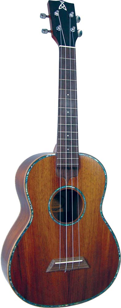 Ashbury Tenor Ukulele, Solid Koa Solid koa top, back and sides, hardwood fingerboard with Sapele neck.