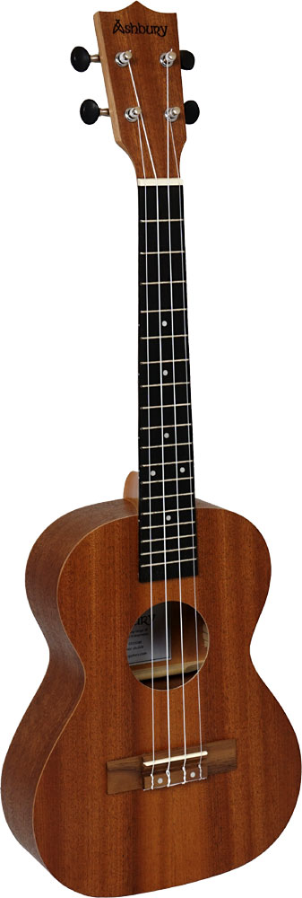 Ashbury Tenor Ukulele Mahogany top back and sides. Walnut fingerboard with a mahogany neck