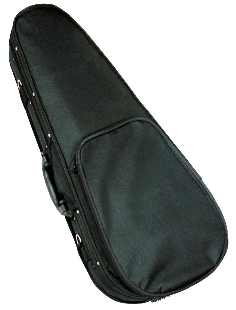 Ashbury Concert Ukulele Foam Case High density foam, lightweight, nylon covered, plush lined, for Concert Uke.