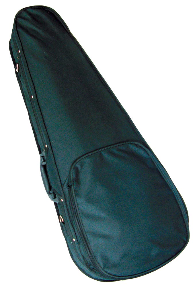 Ashbury Baritone Ukulele Foam Case High density foam, lightweight, nylon covered, plush lined, for Baritone Uke.