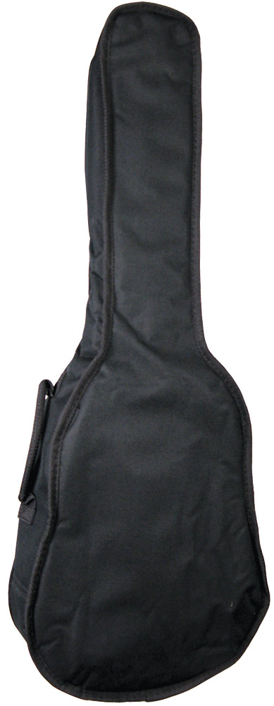 Ashbury Standard Tenor Ukulele Bag 5mm padded black nylon gig bag with shoulder strap and handle, for Tenor Uke