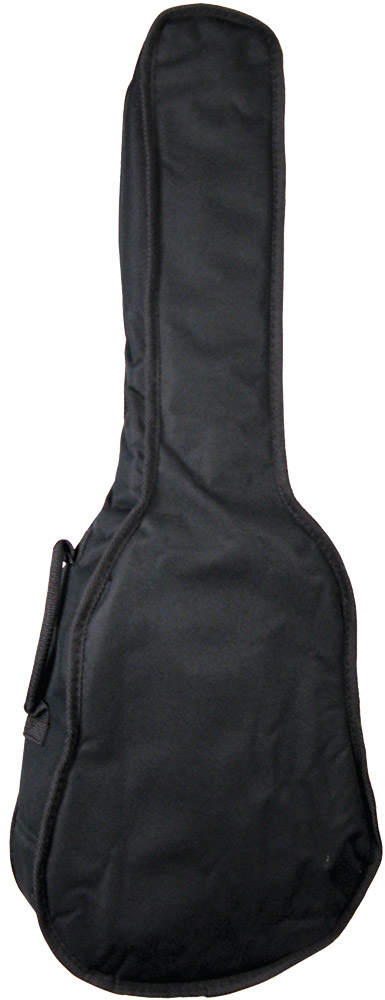 Ashbury Standard Baritone Ukulele Bag 5mm padded black nylon gig bag with shoulder strap and handle, for Baritone Uke