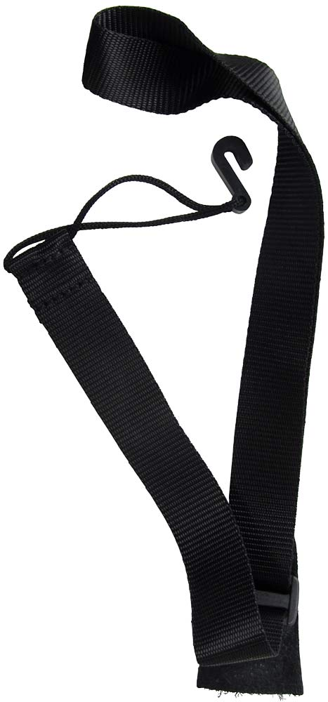 Ashbury Basic Ukulele Strap Hook style uke strap, same design as a classical guitar strap.