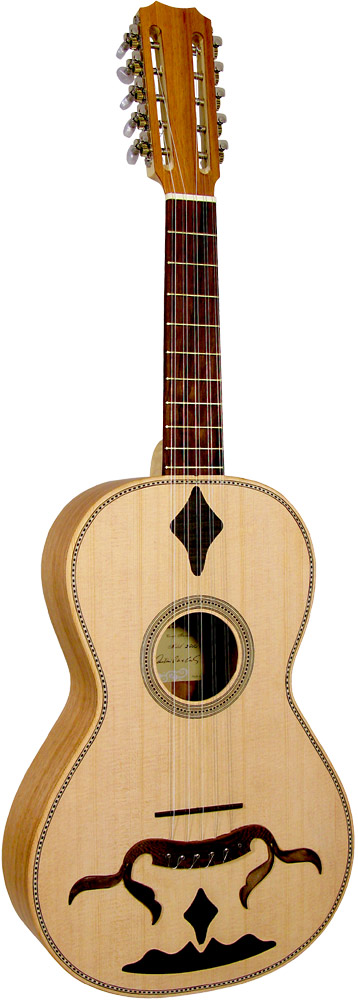 Carvalho Braguesa Guitar Traditional Portuguese Guitar. 10 metal strings in 5 courses, all solid wood