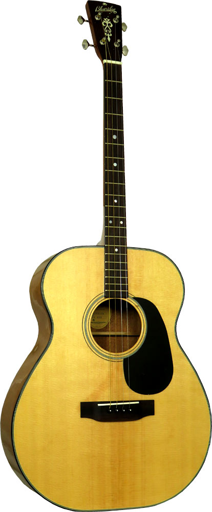 Blueridge Contemporary Tenor Guitar CGDA Solid Sitka spruce top with scalloped braces, Standard tuning