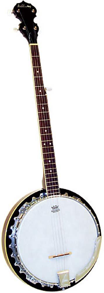 Ashbury 5 String Banjo, Left Handed Left handed, aluminium rim, 30 tension hooks, mahogany resonator, 11