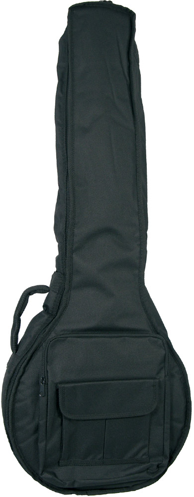 Ashbury Deluxe 5 String Banjo Bag Tough black nylon outer with 20mm padding.