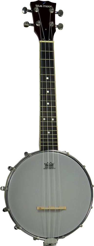 Blue Moon Ukulele Banjo, 8inch Head 8inch Remo head with a closed back style body.