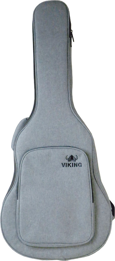 Ashbury Premium Classical Guitar Bag Tough black nylon outer with padding and plastic reinforcement.