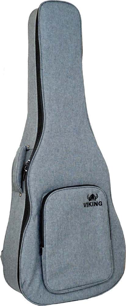 Ashbury Premium Dreadnought Guitar Bag Tough black nylon outer with padding and plastic reinforcement.