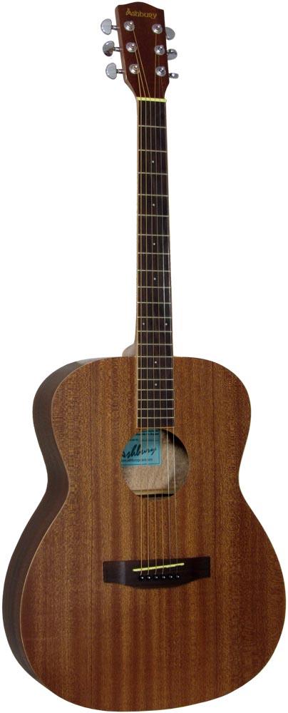 Ashbury OOO Style Acoustic Guitar Mahogany top with a mahogany 000 body.