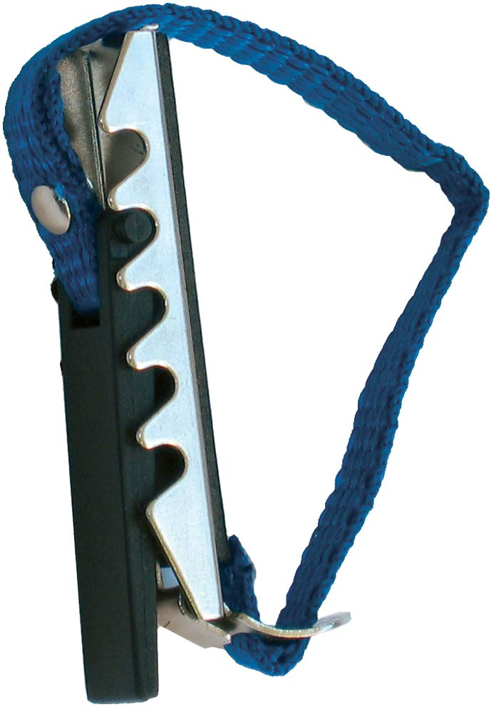Ashbury Classical Guitar Capo Easy to use lightweight metal capo with rubber face & adjustable webbing strap.