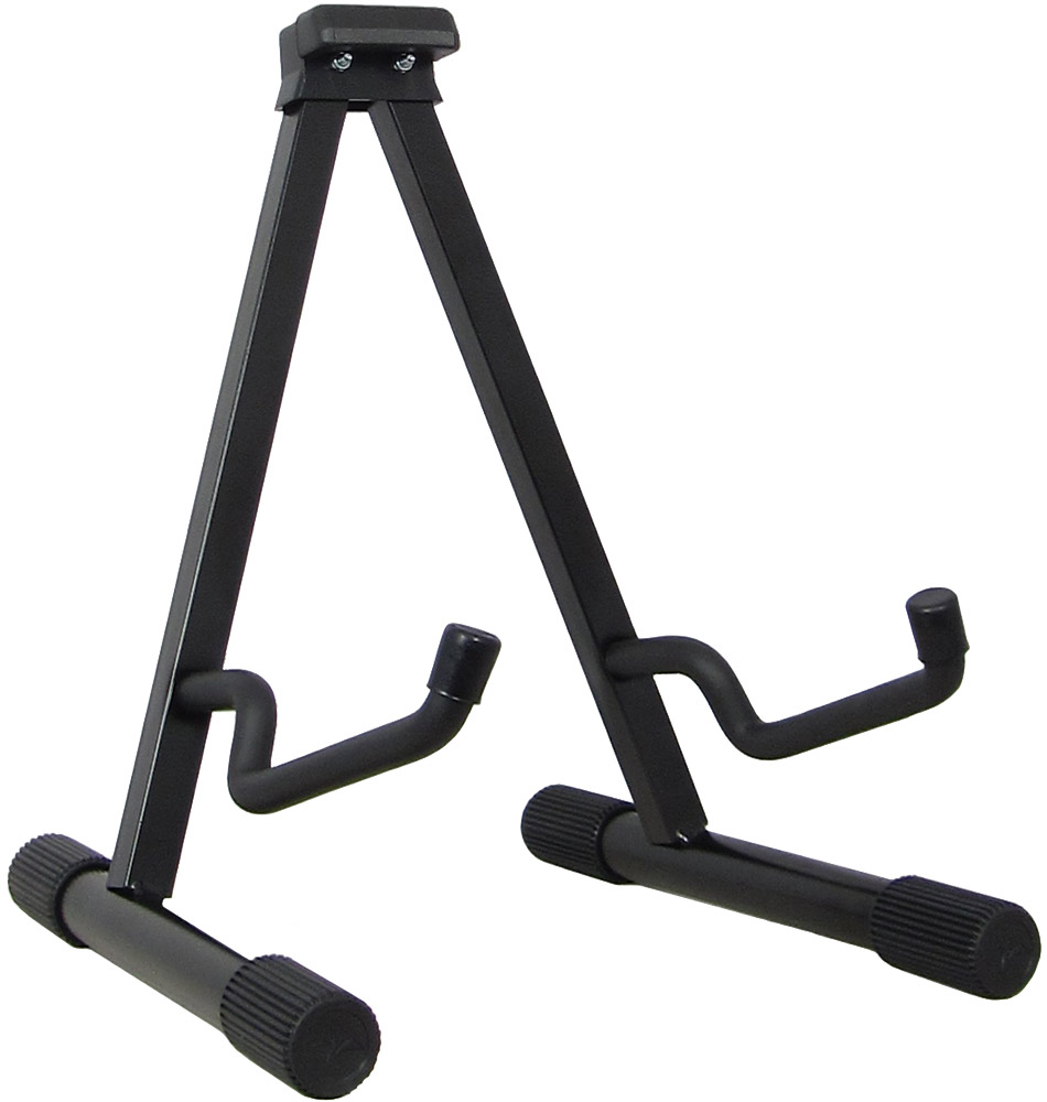 Viking Guitar Stand, A Frame Fold flat stand for acoustic guitars. Made from quality steel. 38cm high.