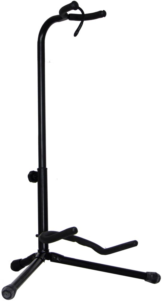 Viking Guitar Stand, Neck Support A style based with neck support for acoustic guitars. Height 40-70cm.