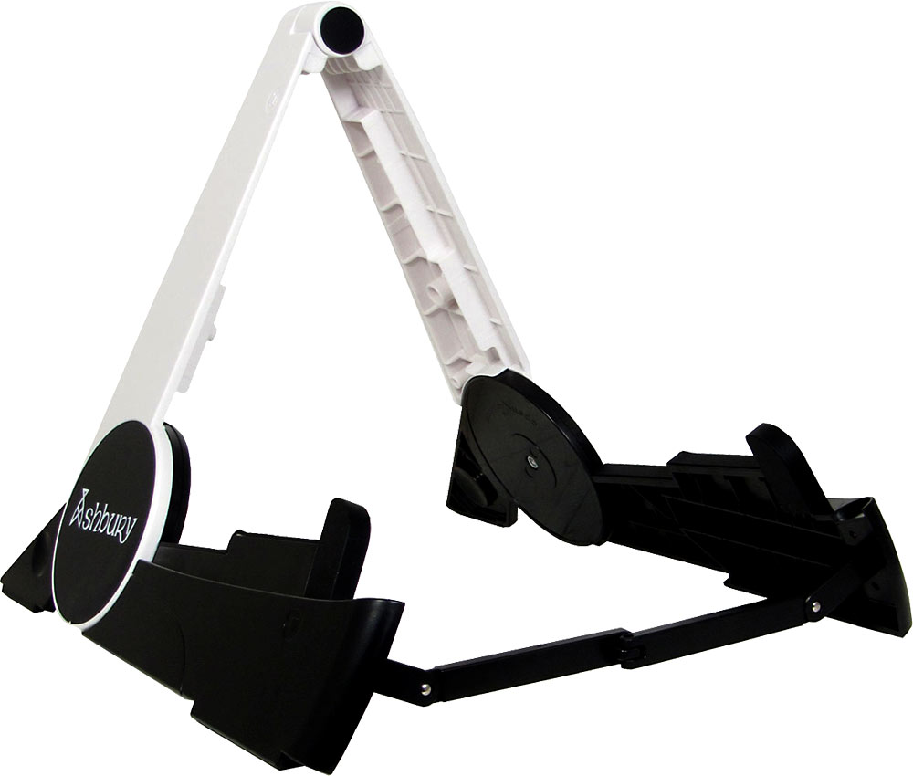 Ashbury Guitar Stand, Foldable A foldable stand made from lightweight but strong plastic.