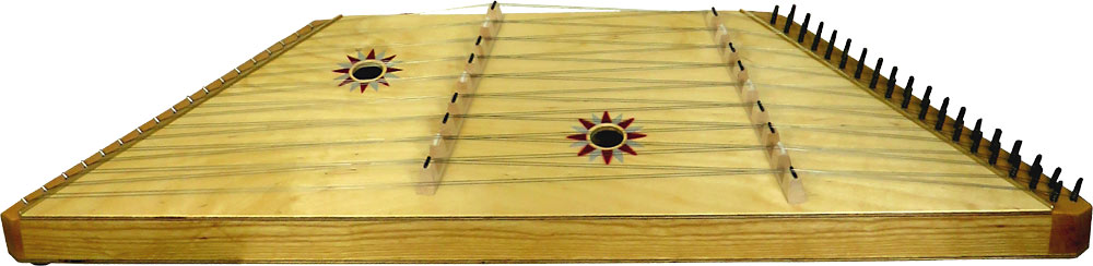 Sherwood Hammered Dulcimer 9/9 18 double courses, laminated top Hammered Dulcimer