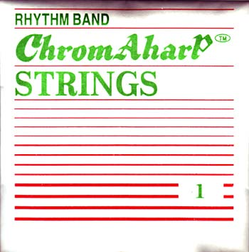 Ashbury Autoharp String Pack No: 1 low String 1 (low F) to 12 (C). 12 wound ball end strings for the modern Autoharp..