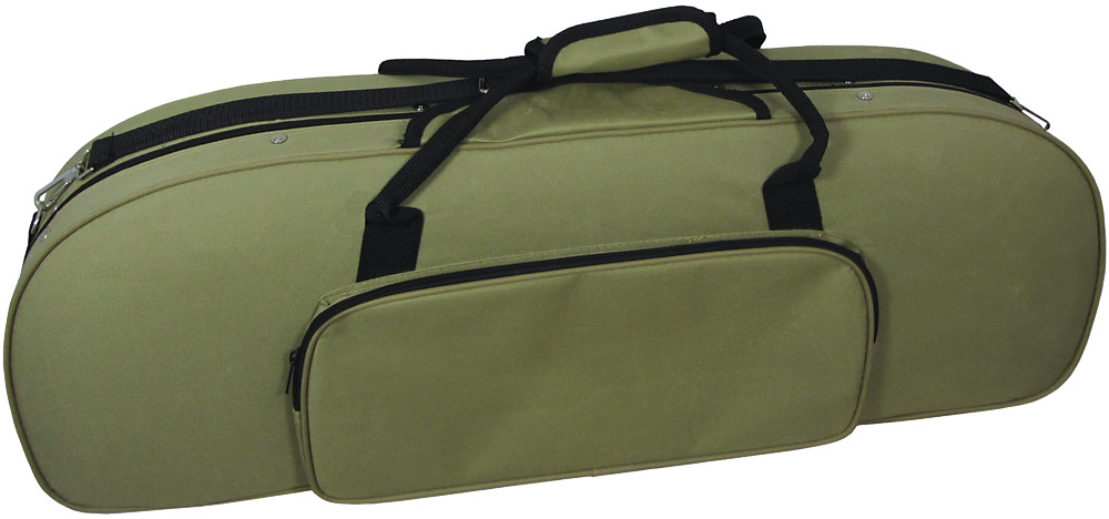 Valentino Shaped Violin Case Oblong A lightweight rounded oblong foam case, nylon covered with outside pocket
