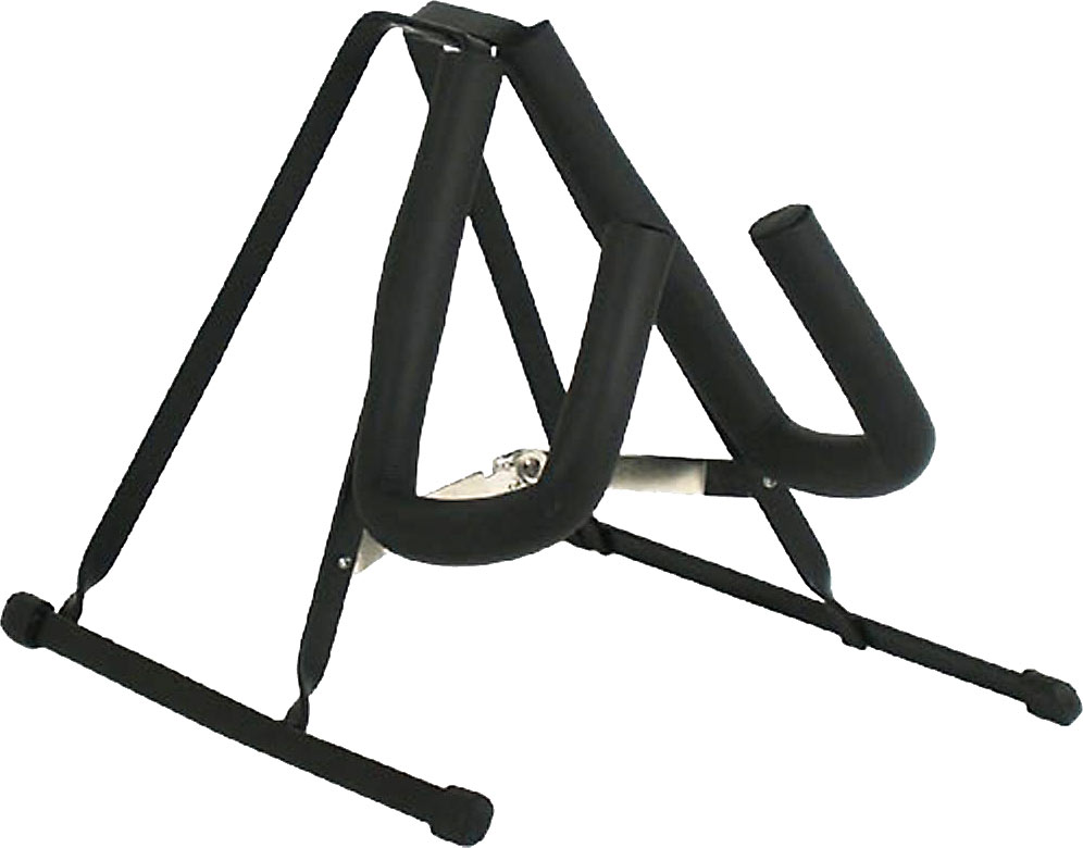 Viking Violin Stand, Black A frame style, foldaway