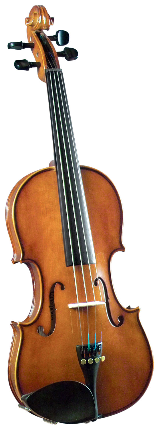 Cremona Full Size Violin Outfit Cremona SV-130 Premier Novice Violin Full Size with Ebony Fingerboard.