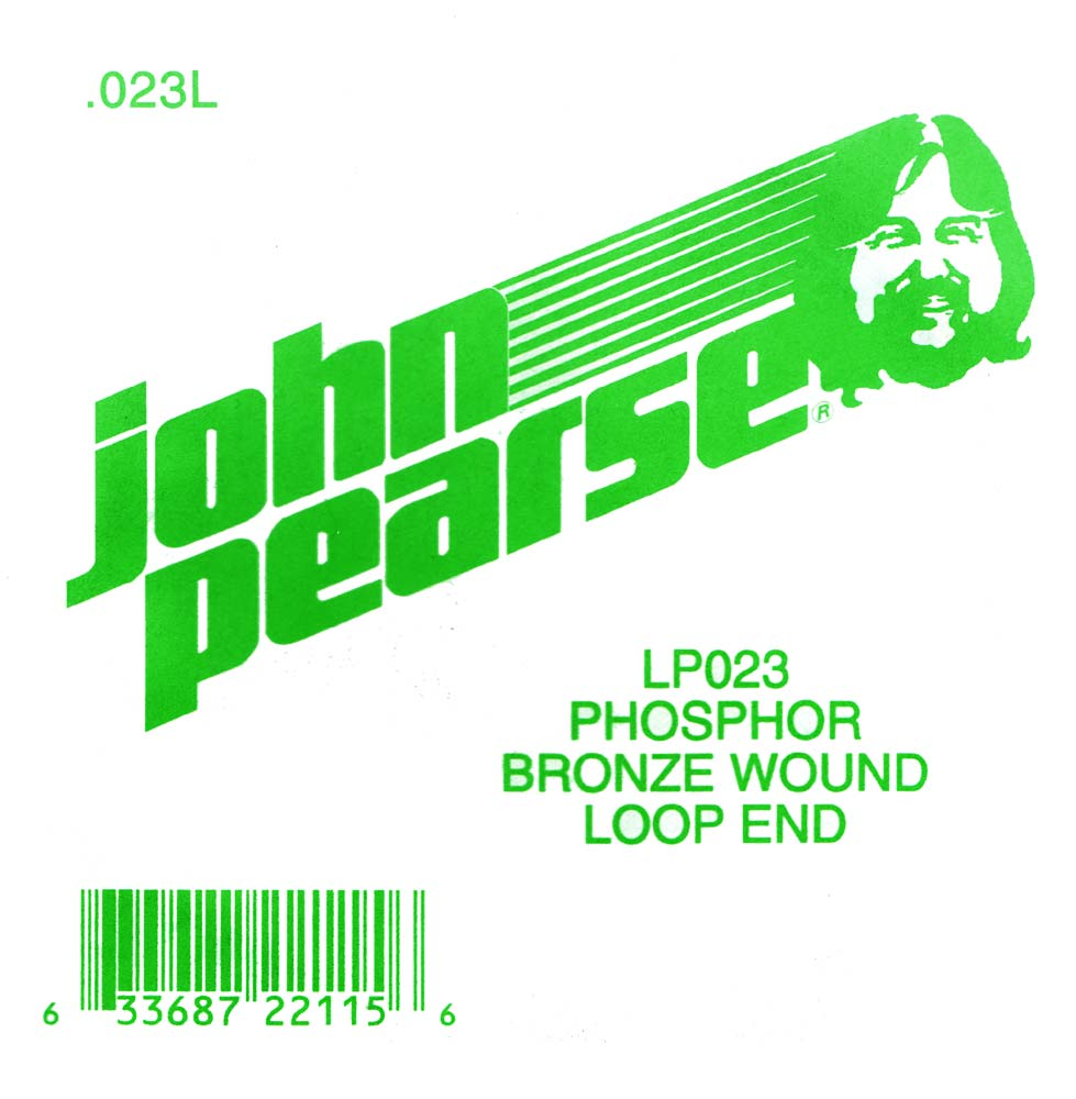 John Pearse Phosphor bronze loop end .023 John Pearse. Single string