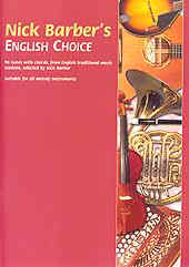 Nick Barber's English Choice 96 tunes with chords, all the popular traditional English session tunes