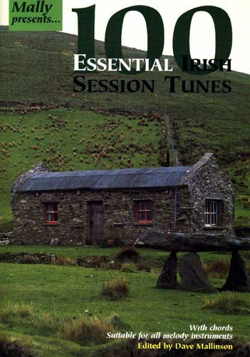 100 Essential Irish Sess.tunes A nicely made book with all the tunes currently in vogue in sessions, Mallinson