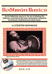 Bodhran Basics tutor book & CD 32 page Book by Steafan Hannigan on Bodhran for beginners, with accompanying CD