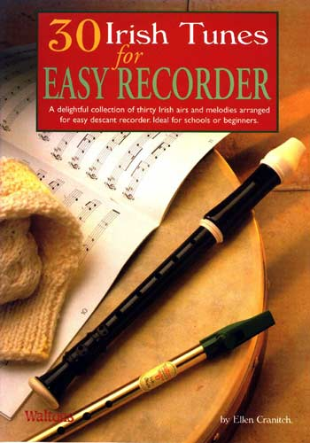 30 Irish Tunes for Recorder Ideal for Beginners or Schools