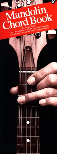Mandolin Case Chord Book Handy pocket size book with a huge chord selection for mandolins.
