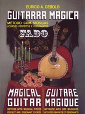 Guitarra Magica Tutor Book Method for Fado (Portuguese) Guitarra