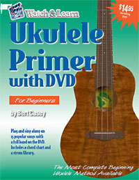 Ukulele Primer Book and DVD Ideal book book for beginners.